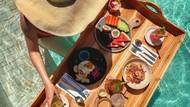 Sarapan Sultan Floating Breakfast yang Ikonik dari Pulau Dewata