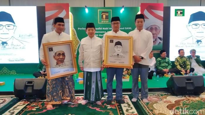PPP mengenang Mbah Moen dan mensyukuri gelar pahlawan nasional untuk KH Masjkur. (Wilda Nufus/detikcom)