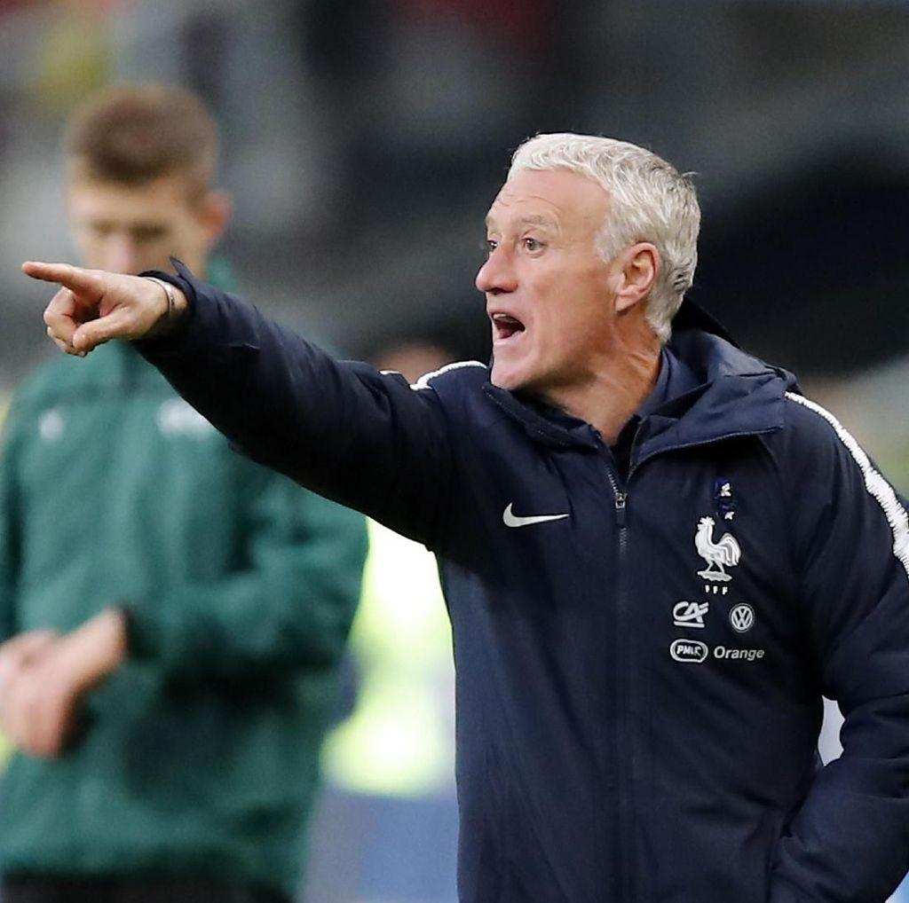 Didier Deschamps Capai Laga ke-100 Melatih Prancis