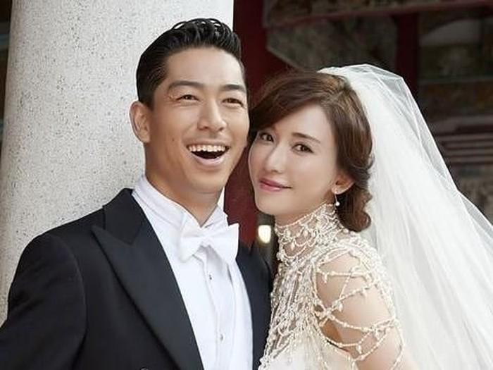 Akira dan Lin Chi-Ling menikah. Foto: instagram  @jdrama_wowjapan
