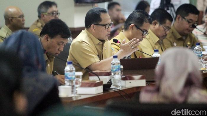 Mendagri Tito Karnavian (Lamhot Aritonang/detikcom)