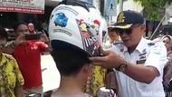 Pelanggar Lalin di Kota Tegal Tak Ditilang, Malah Dapat Hadiah