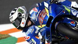 Detik-detik Alex Rins Crash-Motor Melayang di Kualifikasi MotoGP