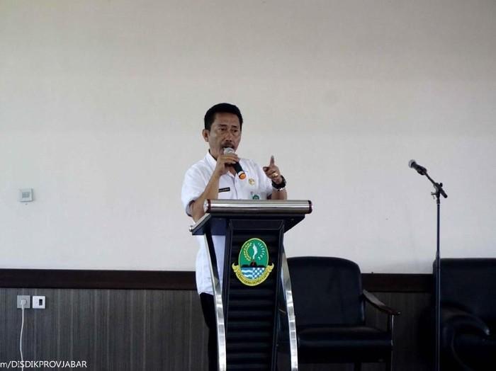 Kabid Pendidikan Khusus dan Layanan Khusus (PKLK) Disdik Jabar Nanang Nurwasid. (Foto: Istimewa)