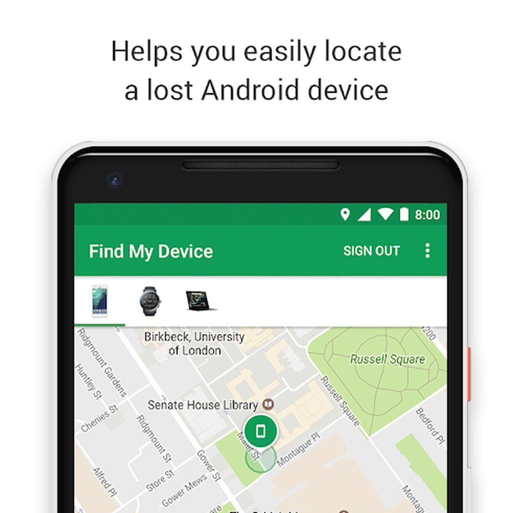 Cara Gunakan Google Find My Device untuk Lacak Ponsel yang Hilang