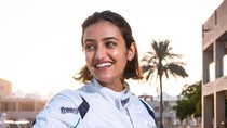 Potret Reema, Pembalap Wanita Pertama dari Arab Saudi yang Cetak Sejarah