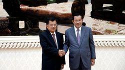 Bertemu PM Kamboja, JK Harap Hubungan Bilateral Makin Erat