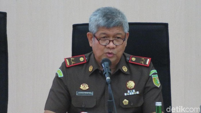 Kepala Kejaksaan Tinggi (Kajati) Sulawesi Selatan (Sulsel) Firdaus Dewilmar (Noval/detikcom)