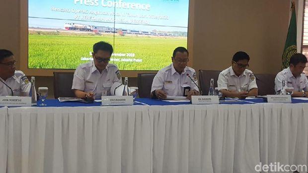 Konpers Rencana Operasi Angkutan Nataru 2019 oleh PT KAI