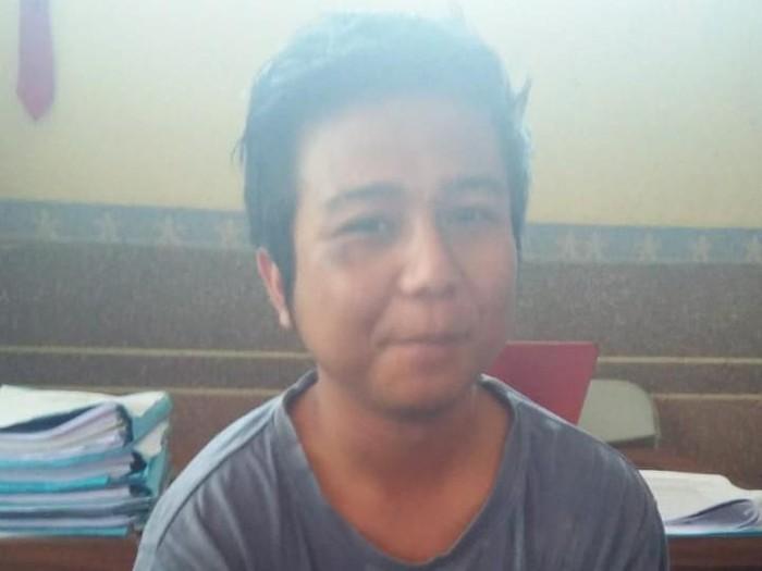 Sidik, pelaku pelempar sperma di Tasikmalaya, Jawa Barat. (Foto: istimewa)