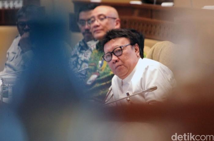 Tjahjo Kumolo (Lamhot Aritonang/detikcom)