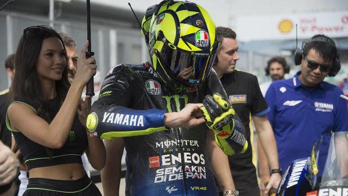 Rossi Mesin Baru Yamaha Oke namun Masih Ketinggalan Jauh