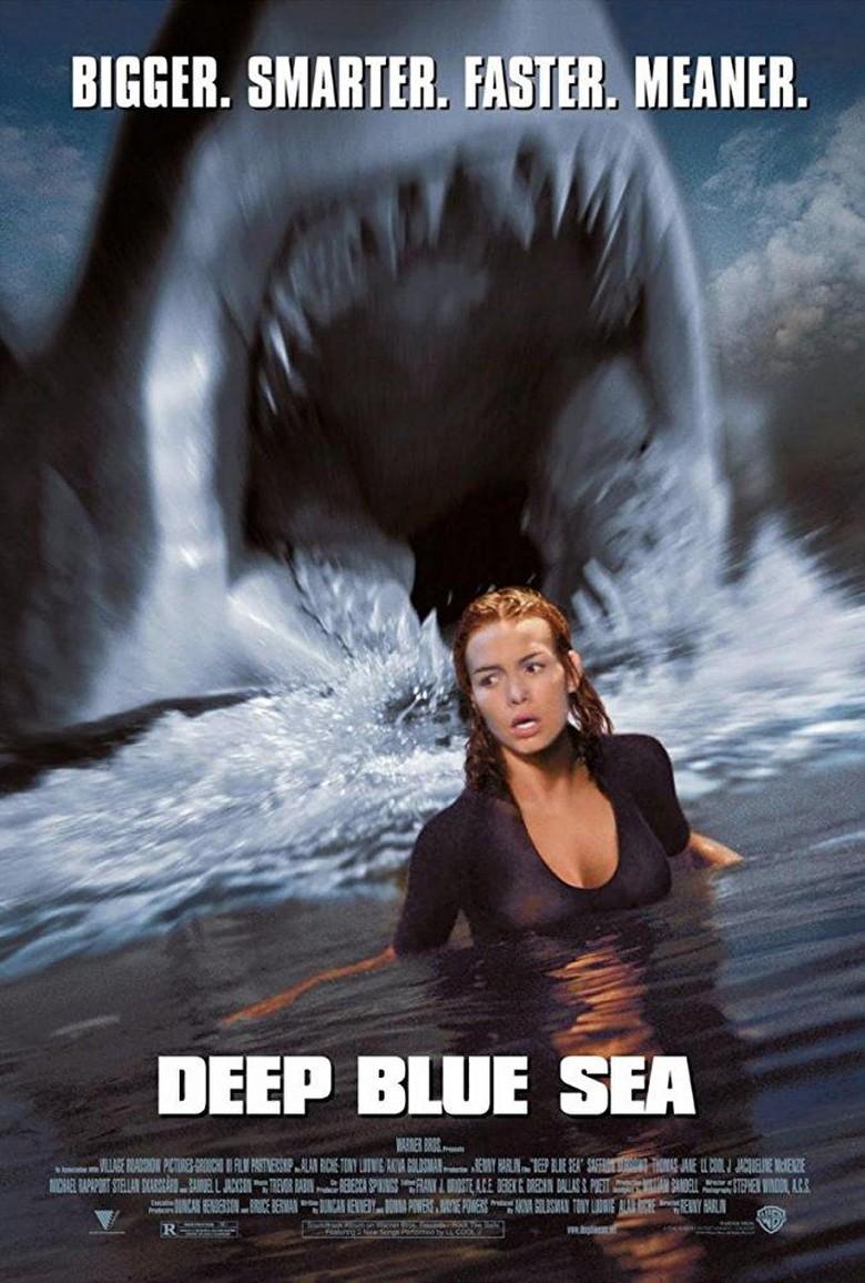 Film Deep Blue Sea, Ketika Hiu Raksasa Mengamuk/Foto: Imdb