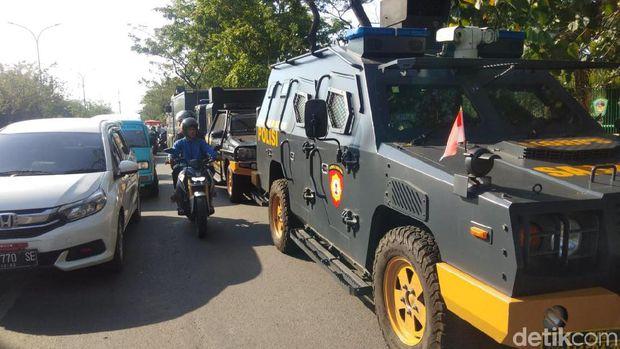 Kampus UMI Makassar dijaga polisi