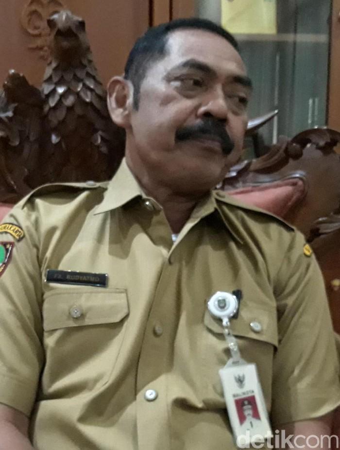 Wali Kota Surakarta FX Hadi Rudyatmo, Senin (18/11/2019). Foto: Bayu Ardi Isnanto/detikcom