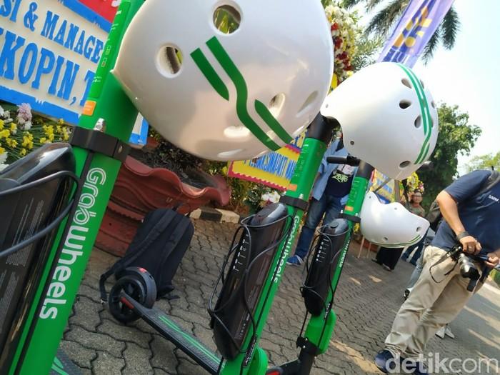 GrabWheels, layanan skuter listrik dari Grab