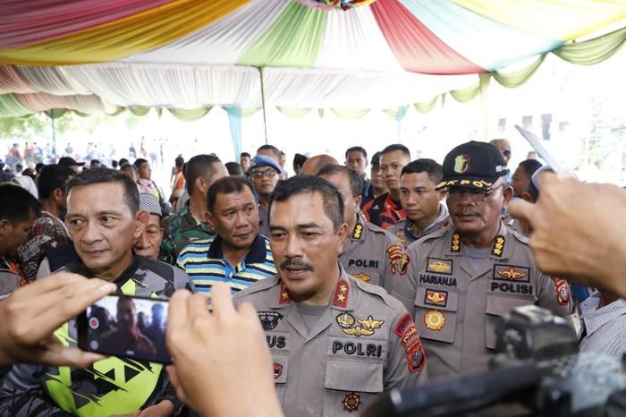 Foto: Kapolda Sumut Irjen Agus Andrianto (Ahmad Arfah/detikcom)