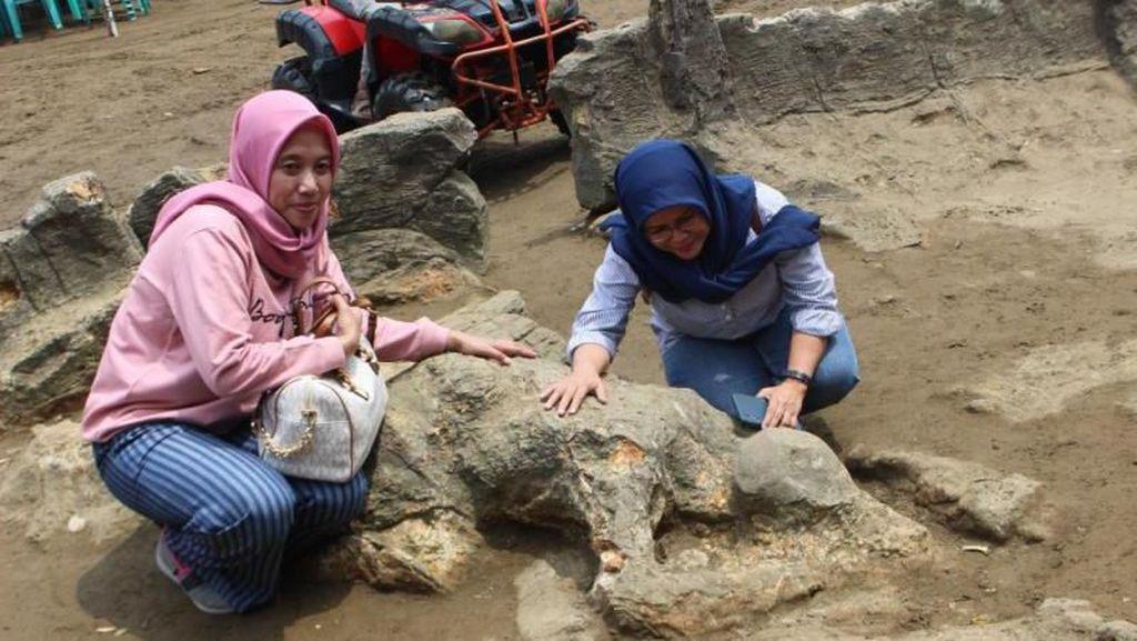 Foto: Penampakan Batu Malin Kundang