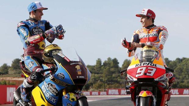 Marc Marquez dan Alex Marquez akan berada satu garasi di MotoGP 2020.