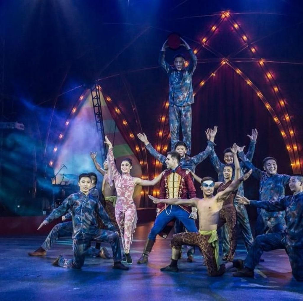 Melihat Kembali Aksi Akrobat Sirkus di The Great 50 Show Jakarta