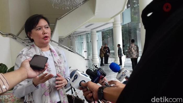 Duta Besar (Dubes) Myanmar untuk Indonesia, Ei Ei Khin Aye (M Fida Ul Haq/detikcom)