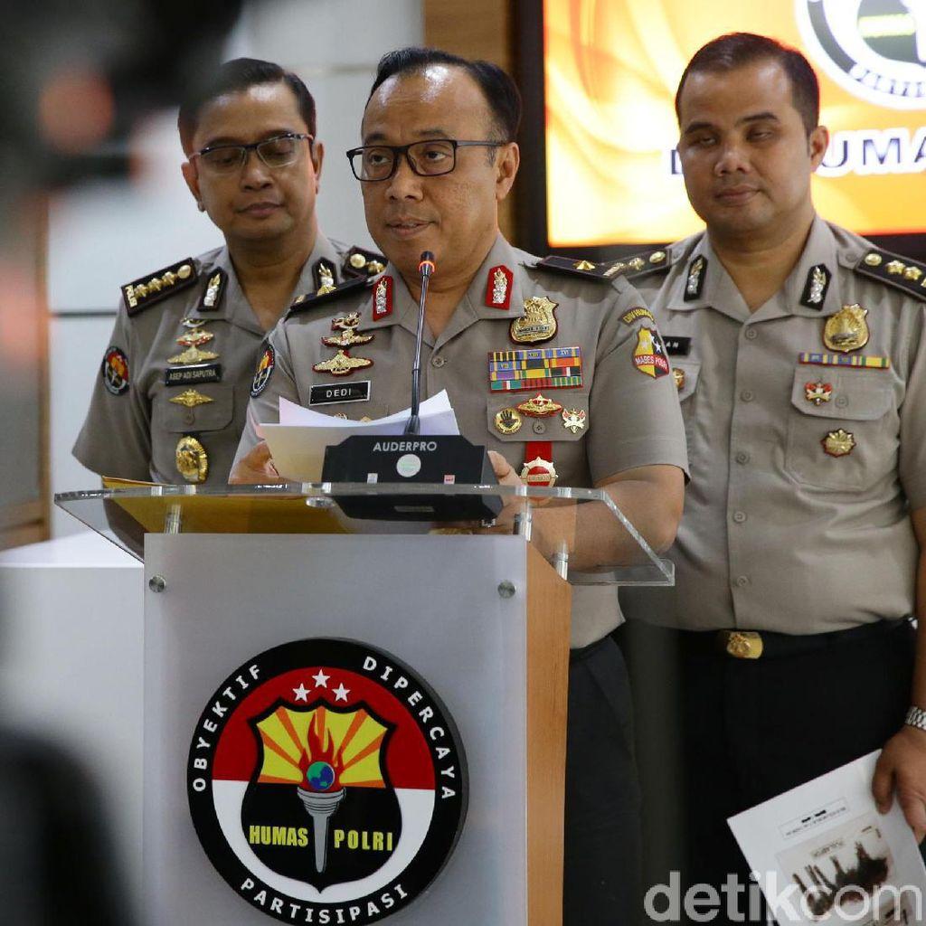 Polisi Tetapkan 46 Tersangka Teroris Pasca-Bom Medan