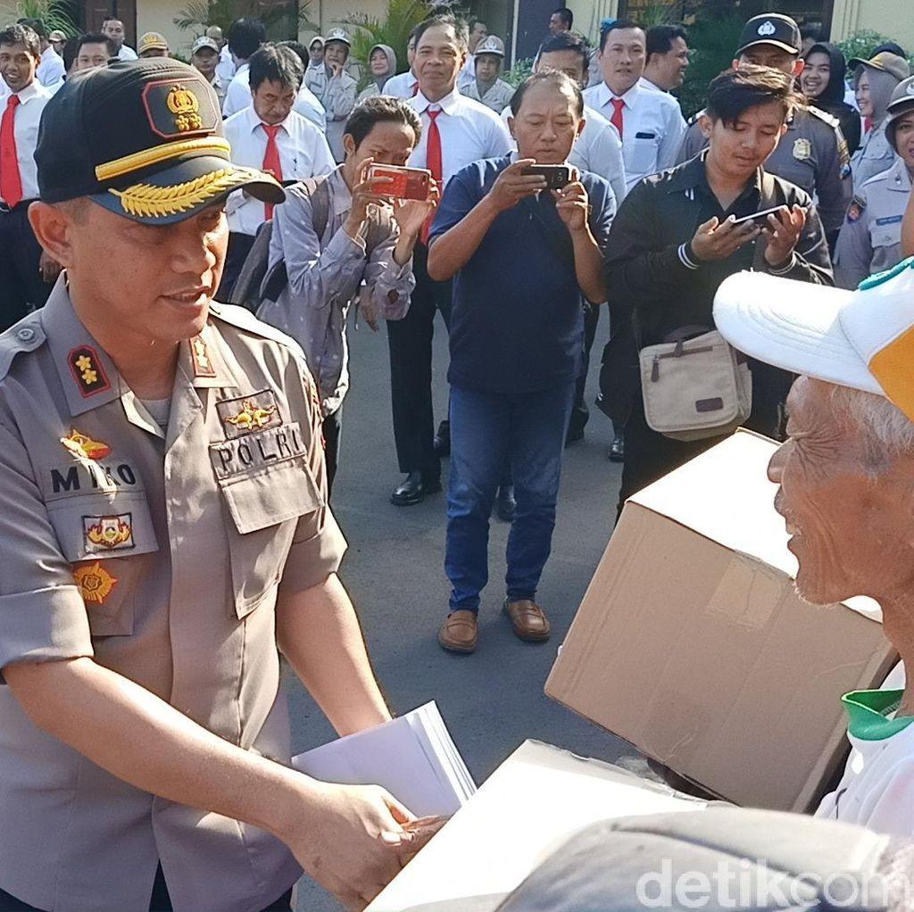 Tukang Becak di Kota Kediri Bisa Minta Makan ke Polisi Jika Lapar