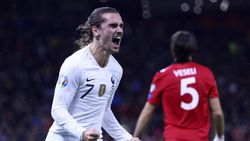 Kualifikasi Piala Eropa: Griezmann Bersinar, Prancis Tekuk Albania 2-0