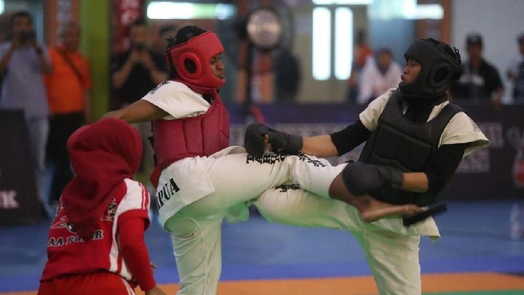 126 Petarung Muda Ikuti Cabor Tarung Derajat di Popnas 2019