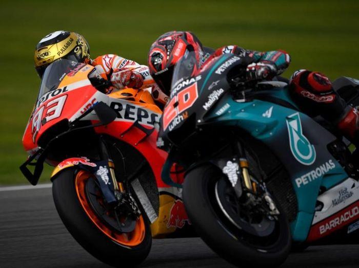 Persaingan MotoGP 2020 akan dimulai malam nanti, saat digelar tes pramusim di Valencia ((PIERRE-PHILIPPE MARCOU / AFP)
