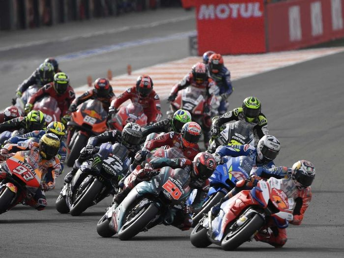 Line up pebalap MotoGP 2020 sudah lengkap setelah Alex Marquez bergabung dengan Repsol Honda (PIERRE-PHILIPPE MARCOU / AFP)