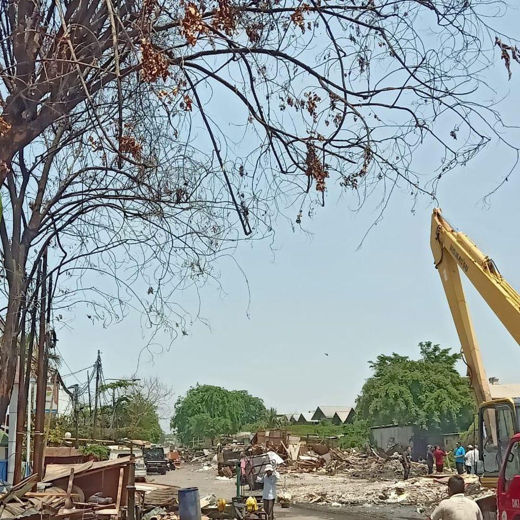 Pemkot Jakut Sebut Kawasan Sunter yang Digusur Kerap Tergenang Banjir