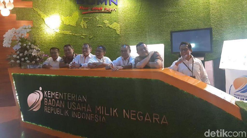 Erick Thohir Sebar Eks Deputi Jadi Wadirut di Pelindo hingga AP II