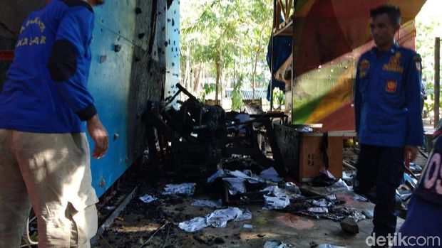 Foto: Hermawan Mappiwali/detikcom Biro Makassar/ Sekret Mapala UMI Makassar dirusa