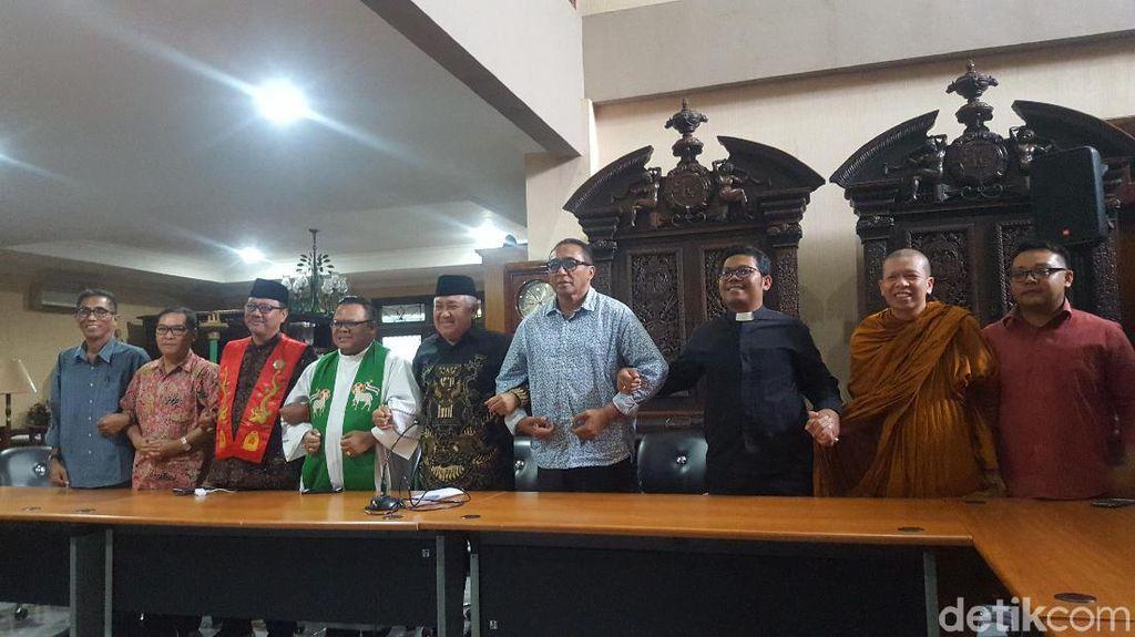 Din Syamsuddin dan Tokoh Lintas Agama Ingatkan Pentingnya Toleransi
