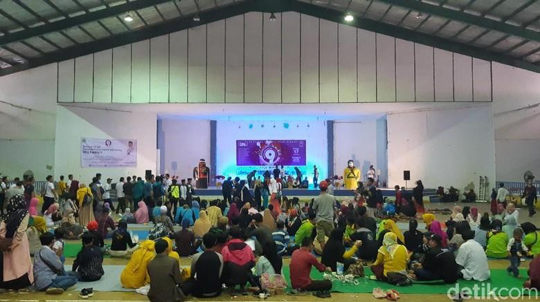 Acara festival budaya di Serang. (Foto: Bahtiar Rifai/detikcom)