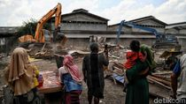 Penggusuran Berlanjut, Ekskavator Kembali Ratakan Bangunan di Sunter