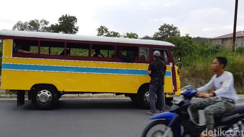 Bus Kayu Karimun (Foto: Ahmad Masaul Khoiri/detikcom)