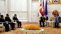 JK juga mengucapkan terima kasih atas undangannya untuk hadir di acara Universal Peace Forum (UPF) Asia Pacific Summit 2019.