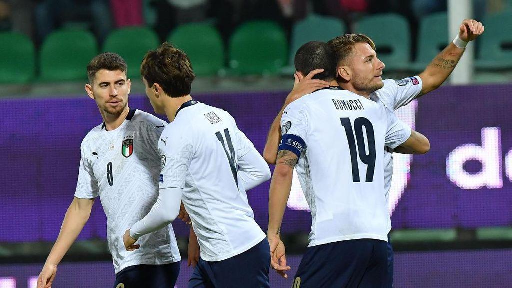 Laju Mulus Italia di Kualifikasi Piala Eropa