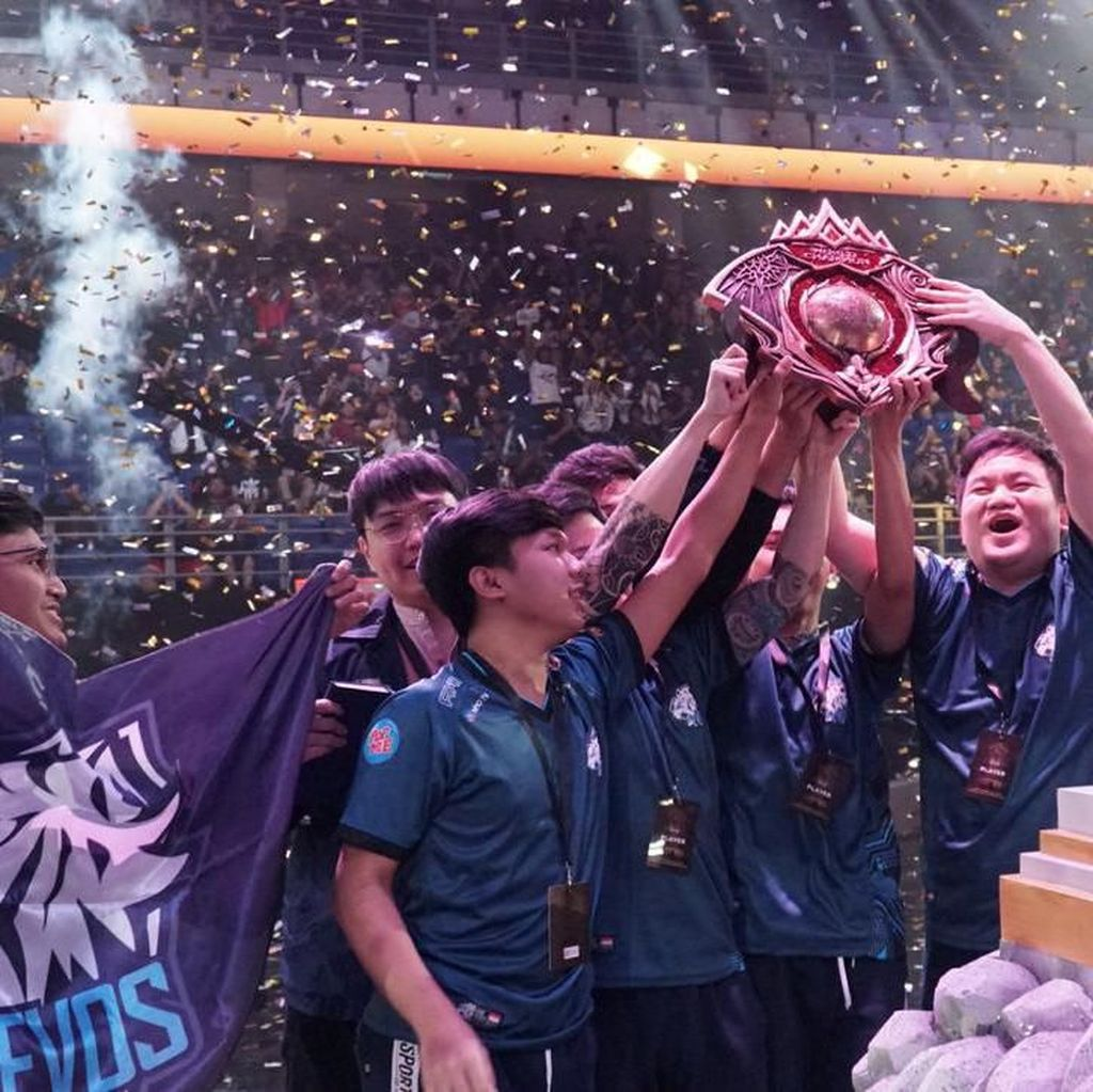 Juara Dunia Mobile Legends, Tim Indonesia Gaet Rp 1,1 Miliar