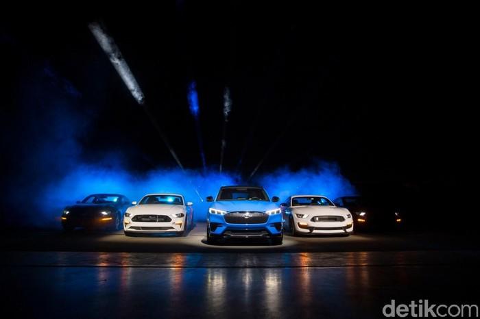 SUV Listrik Ford Mustang Mach E