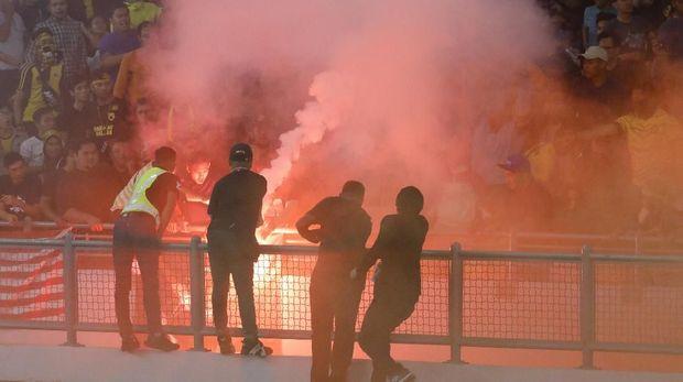Suasana dalam stadion Bukit Jalil.