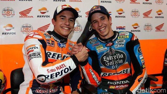 Marc Marquez dan Alex Marquez.