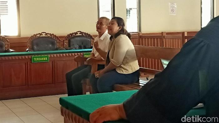 WN China Dacheng Yan dihukum delapan bulan penjara dan denda Rp 50 juta (Aditya Mardiastuti/detikcom)