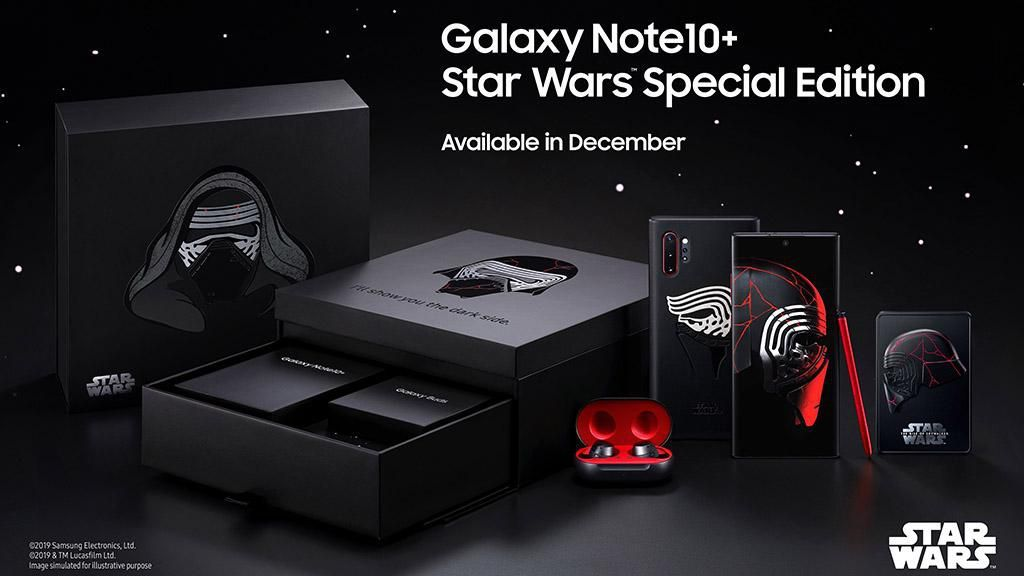 Samsung Hadirkan Galaxy Note 10+ Edisi Star Wars