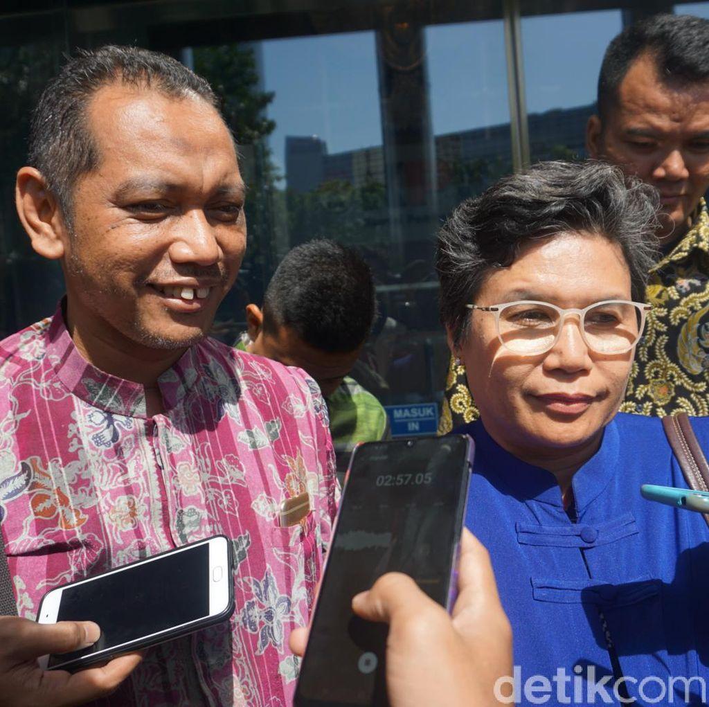 Dua Komisioner KPK Terpilih Temui Pimpinan KPK