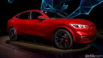 Ford Mustang Mach-E, SUV Listrik Canggih Detroit