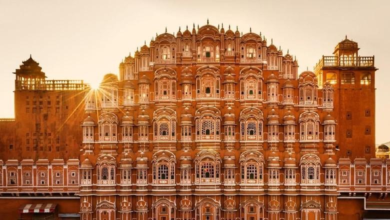 Hawa Mahal di Jaipur. (Foto: iStock)