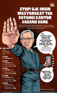 OJK: Urusan Bank Tak Perlu ke Kantor Cabang Lagi, Lho Kenapa?